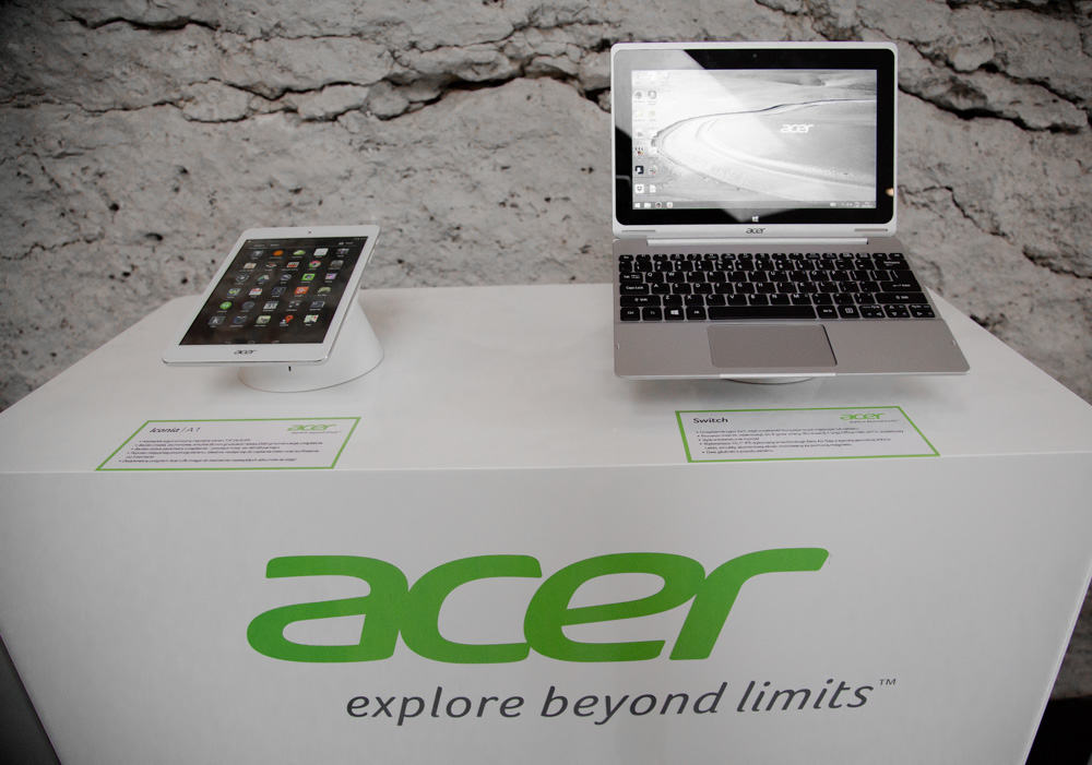 Tablet i Laptop Acer